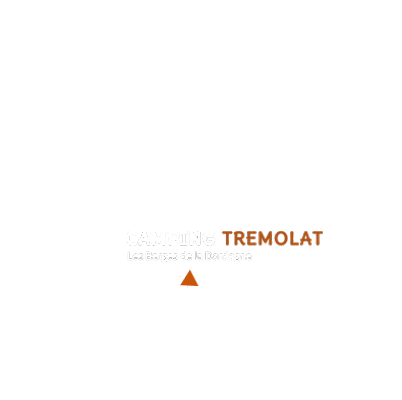 map of France camping tremolat